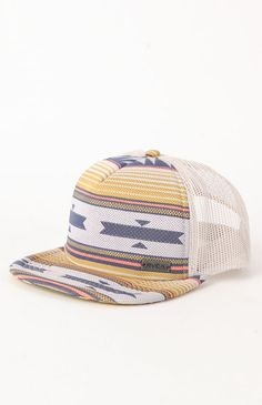 RVCA deliver this trucker hat complete with a striped front detail 8e9d1a594e0