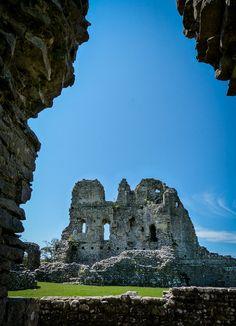Ogmore Castle, Bridgend, South Wales, UK - 12th century