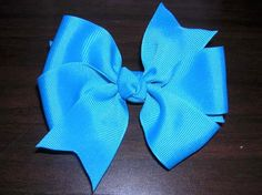 Free Hair Bow Making Instructions - Lots of different cool hair bows