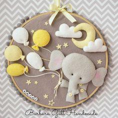 Barbara Handmade ...: Felt elephant