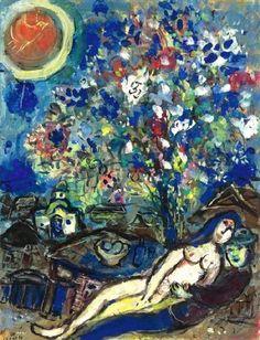 Marc Chagall (1887-1985): Le Bouquet d'Amour