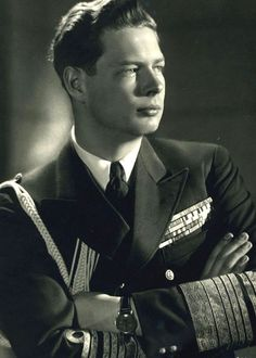 King Michael I of Romania, last monarch of Romania.His father is King Carol II and his paternal grandmother is Queen Marie, who used to be Princess Marie of Edinburgh. Thus, Michael is a great-great-grandson of Queen Victoria of Great Britain. Michael I Of Romania, Romanian Royal Family, Central And Eastern Europe, Today In History, Royal House, Royal Life, Queen Mary, Kaiser, Second World