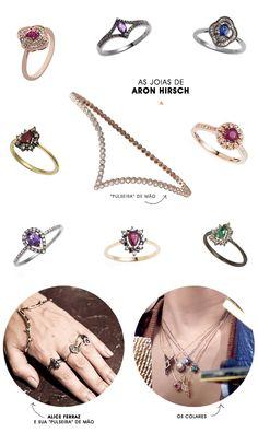 Achados da Bia   Joias Aron Hirsch