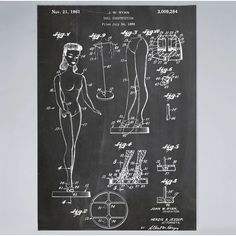 This barbie doll patent print is a great addition to any home, office or room. Get this collectors barbie poster in a range of styles from patent wall art. Learn Something New Everyday, Mattel, Patent Drawing, Thing 1, Metallic Paper, Framed Prints, Art Prints, Vintage Barbie Dolls, Patent Prints