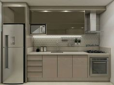 There is no question that designing a new kitchen layout for a large kitchen is much easier than for a small kitchen. A large kitchen provides a designer with adequate space to incorporate many convenient kitchen accessories such as wall ovens, raised. Kitchen Room Design, Kitchen Sets, Home Decor Kitchen, Interior Design Kitchen, Home Kitchens, Cuisines Design, Apartment Kitchen, Kitchen Remodel, Sweet Home