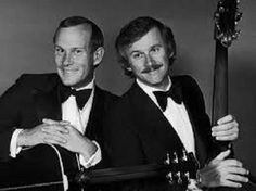 smothers brothers comedy pinterest | Smothers Brothers , Tommy and Dickey.