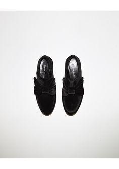 Simone Rocha / Velvet Bow Loafer | La Garçonne