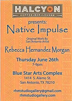 Hope see you next Thursday (6/26) at Halcyon for Native Impulse.