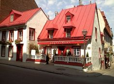 Restaurant aux Anciens Canadiens (in the city's oldest house, dated 1676), Quebec (Upper City), Canada