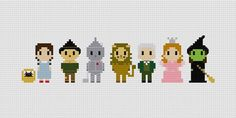 Wizard of Oz Cross Stitch Pattern