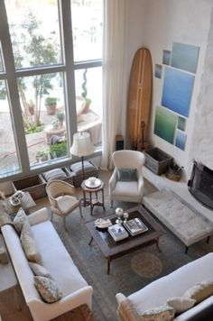 How To Incorporate Surfs Into Home Décor: 21 Fun Ideas | DigsDigs