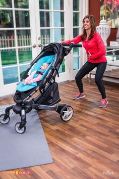 TV host and new mom Jill Simonian shares her exercise tips for new moms and how to stay fit when you have babies and toddlers. blog.rightstart.com