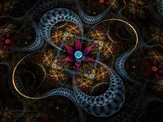 Fractal Art Wallpaper | ... Fractal Arts : The Beauty of Fractals (Vol.04) 1024*768 Wallpaper 38