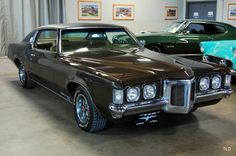 1969 Pontiac Grand Prix Model J -