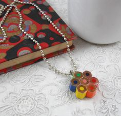 Teacher Gift: Colored Pencil Necklace