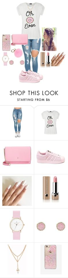"""Outfit#37"" by daviscarmen on Polyvore featuring Ally Fashion, Kate Spade, adidas, Marc Jacobs, Charlotte Russe and Skinnydip"