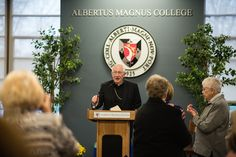 Archbishop Blair Lecture on Thursday, November 12, 2015 ‪#‎StThomasAquinas‬ ‪#‎Lecture‬ ‪#‎AlbertusMagnusCollege‬ ‪#‎90YearsAtAlbertus‬