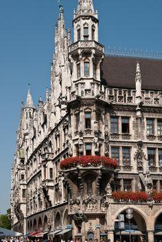 Neues Rathaus. Munich, Germany.