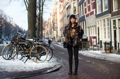 Perfect look! On the Street…..Herengracht, Amsterdam -