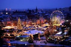 Erfurt Christmas Market, Germany/ really need to take a drive for this