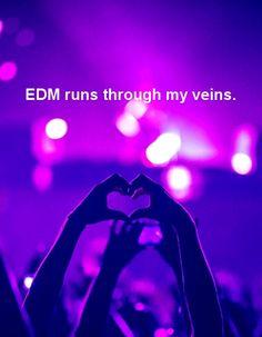 EDM runs through my veins.