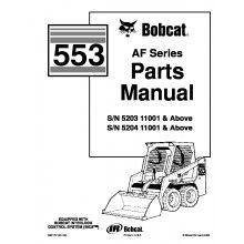 Bobcat 337, 341 G-Series Preliminary Excavator Parts