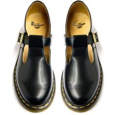 Dr Martens Polley Shoe Mary Jane ❤ liked on Polyvore