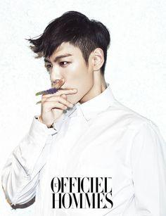 L'officiel Hommes 최승현 Choi Seung Hyun T.O.P