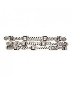 Rock 47 Rocks and Roll Stepping Stones Triple Bangle Bracelets