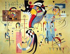 Wassily Kandinsky - Milieu accompagné, 1937.