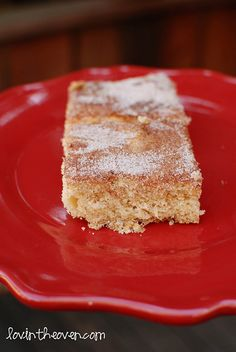 Lovin' From The Oven:Cinnamon Sugar Cookie Squares by Momofuku - Lovin' From The Oven