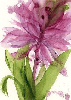 Items similar to Modern Botanical Art Print, Floral Art Print, 12 x 16 Flower Print on Etsy Paintings I Love, Watercolor Paintings, Watercolors, Arte Floral, Abstract Flowers, Botanical Prints, Flower Prints, Floral Watercolor, Alabama Bedroom