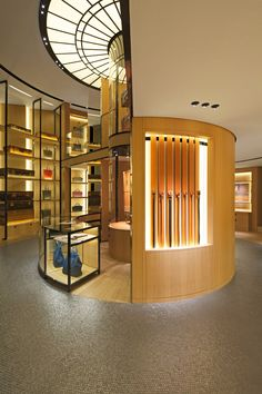 Moynat store, Paris.  The boutique itself is a work of art, not to mention their wares!