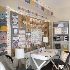 Elementary Classroom Themes, Kindergarten Classroom Decor, Modern Classroom, Classroom Layout, Classroom Decor Themes, New Classroom, Classroom Design, Classroom Organization, Classroom Ideas