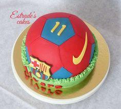 tarta balón del Barcelona 2