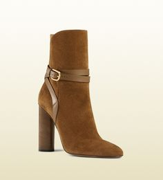 Bottines en daimGucci 6SFB2S