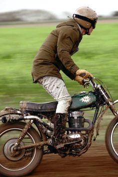Yamaha Cafe Racer by Ugly Motorbikes BSA Yamaha - Pipeburn - Purveyors of Classic Motorcycles, Ca. Enduro Vintage, Motos Vintage, Vintage Motocross, Vintage Bikes, British Motorcycles, Vintage Motorcycles, Cars And Motorcycles, Custom Motorcycles, Bobbers