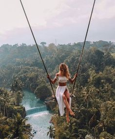 Welcome to Bali. Tag your friends or someone special take to picture or video this place. The most beautiful place at bali swing with view. Travel Pictures, Travel Photos, Beautiful Places To Travel, Bali Travel, Wanderlust Travel, Travel Aesthetic, Travel Goals, Travel Hacks, Travel Tips