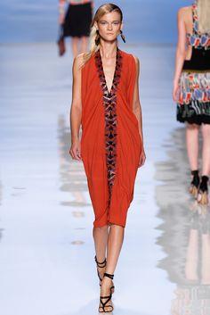 Etro Spring 2012 Ready-to-Wear Fashion Show - Kasia Struss