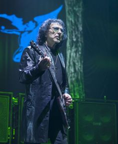 Tony Iommi and Black Sabbath playing NEC LG Arena Birmingham UK, 20 December 2013! (Photo by Birmingham Mail)