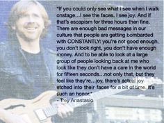 """There's actual joy etched into their faces""---This is why I love Phish"