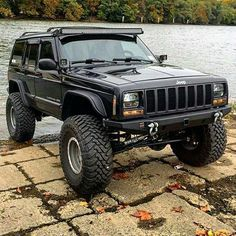 & # 97 - & # 01 Jeep Cherokee XJ - Off the road again - Cars Jeep Xj Mods, Modificaciones Jeep Xj, Jeep 4x4, Jeep Truck, Jeep Cherokee Sport, Jeep Grand Cherokee, Cherokee 4x4, Pink Jeep Wrangler, Jeep Wranglers