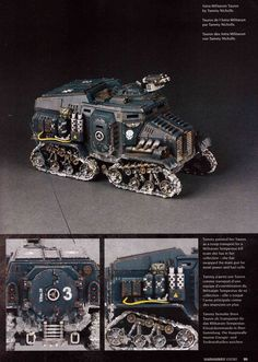 Well there's one way to solve not being able to paint miniatures. Warhammer Figures, Warhammer Models, Warhammer 40k Miniatures, Warhammer 40000, Warhammer 40k Space Wolves, 40k Imperial Guard, Expedition Vehicle, Paint Schemes, Space Marine