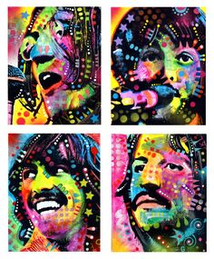 Fan art The Beatles Foto Beatles, Beatles Art, The Beatles, Beatles Guitar, Art Pop, The Fab Four, Creative Portraits, Music Icon, All You Need Is Love