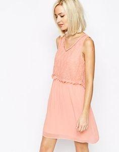 Vergrößern Vero Moda Lace Detail Dress