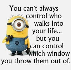 You can't always control,