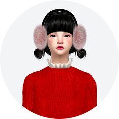 SIMS4 marigold: ear muffs_unisex_귀마개_남녀 공용 악세사리