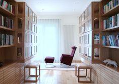 ie - study for luxury penthouse Bespoke Furniture, Contemporary Furniture, Furniture Design, Luxury Penthouse, Study Design, Boconcept, Modern Design, Bookcase, Shelves