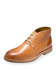 8fbee8259d4a6 Cole Haan Glenn Leather Chukka Boot