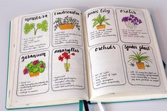 journal ideas for work Bullet journal ideas: Plant care emuse: Bullet Journal Ideen: Pflanzenpflege Garden Journal, Nature Journal, Bullet Journal Spread, Bullet Journal Layout, Journal Inspiration, Journal Ideas, Travel Couple Quotes, House Plant Care, House Plants